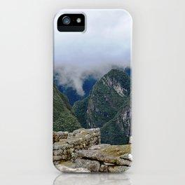 Machu Pichu in the Andes iPhone Case