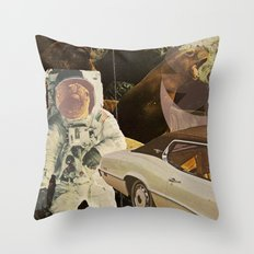 Moon Days Throw Pillow