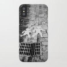 Crosswalk, Brittany, France iPhone X Slim Case