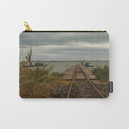 Beziers Bridge to the Mediterranean Sea Carry-All Pouch