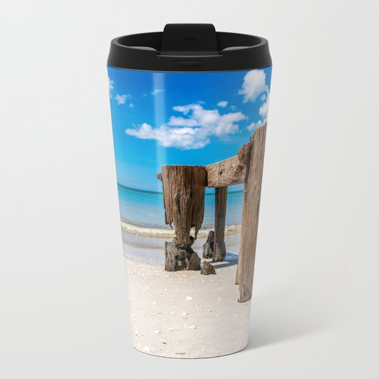 Gnawed Metal Travel Mug