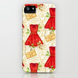 Chistmas fashion iPhone Case