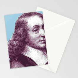 Blaise Pascal Stationery Cards