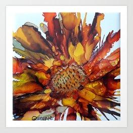sun bloom Art Print