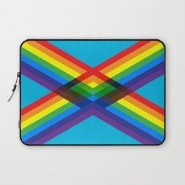 crossing rainbows Laptop Sleeve