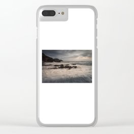 Sea foam on Bracelet Bay Clear iPhone Case