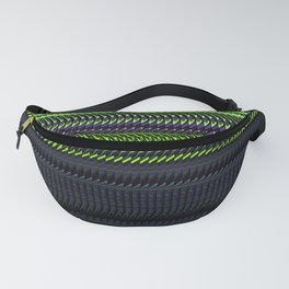 Apple Grape Rag Weave by Chris Sparks Fanny Pack