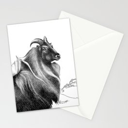 Tahr / Thar Stationery Cards