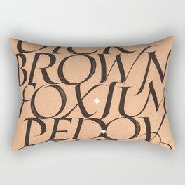 The dog said... Rectangular Pillow