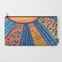 Sun Rays Carry-All Pouch