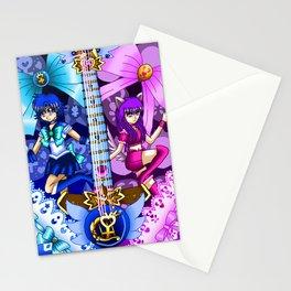 Sailor Mew Guitar #19 - Sailor Mercury & Mew Zakuro Stationery Cards