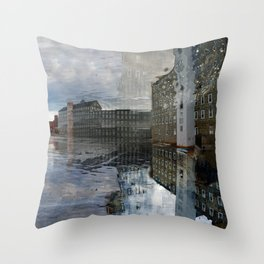Newmarket Mills Abstraction Throw Pillow