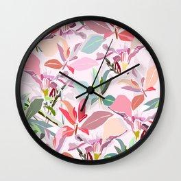 Ole Bouquet Wall Clock