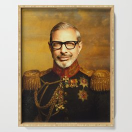 Jeff Goldblum Poster, Classical Painting, Regal art, General, Jurassic Park, Actor Print, Celebrity Serving Tray