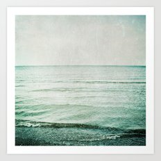 The Sea, my love Art Print