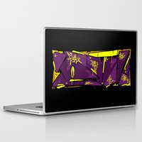 evil Laptop & iPad Skins featuring EVIL by clogtwo