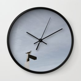 COYOTE POINT Wall Clock