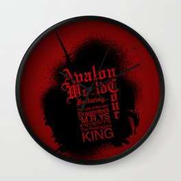 Avalon World Tour Wall Clock