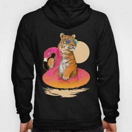 Chillin (Flamingo Tiger) Hoody