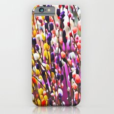 Abstract Pussy Willows Slim Case iPhone 6s