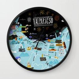 Valparaiso Wall Clock