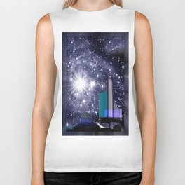 Wonderful starry night. Biker Tank