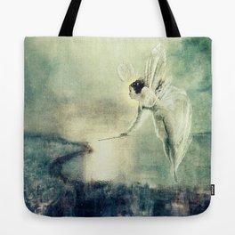 Spirit of the Night by John Atkinson Grimshaw Tote Bag