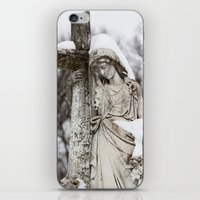 religious iPhone & iPod Skins featuring Religious Statue by Legends of Darkness Photography