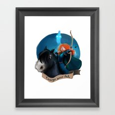 Merida Framed Art Print