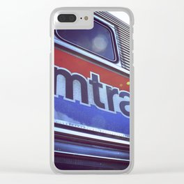 Amtrak Clear iPhone Case