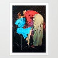Space Love Art Print