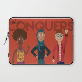 she conquers. Laptop Sleeve