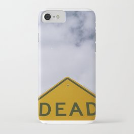 D E A D iPhone Case