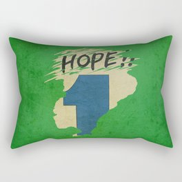 Hope!! (time machine ) Rectangular Pillow