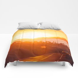 Hawaii Kai Sunset Comforters
