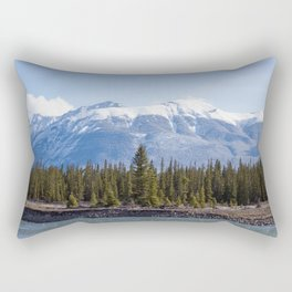 On The Athabasca Rectangular Pillow
