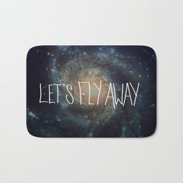 Let's Fly Away (come on, darling) Bath Mat