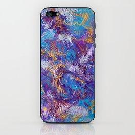 Rainbow dance iPhone Skin