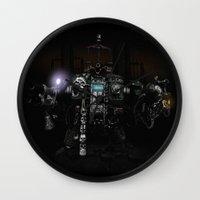 warhammer Wall Clocks featuring Death Incarnate by John Medbury (LAZY J Studios)