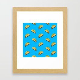 Let's Taco Bout This Framed Art Print