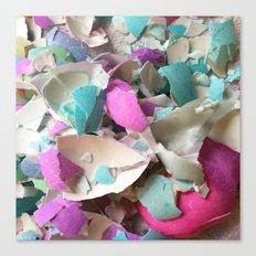 Eggshells Canvas Print