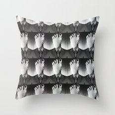 Fooce Throw Pillow