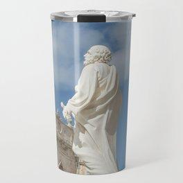 Statue of St. Peter Ortigia Syracuse Travel Mug