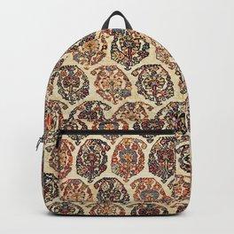Kashkuli  Antique Fars Persian Tribal Rug Backpack