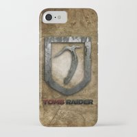 tomb raider iPhone & iPod Cases featuring Tomb Raider by Liquidsugar