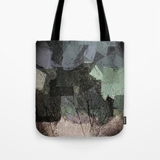 Patchwork Abstract  Tote Bag