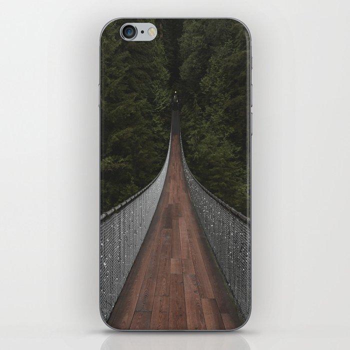 Capilano Suspension Bridge iPhone Skin