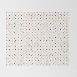 Polka Dot Pattern Throw Blanket