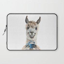 Llama Latte Laptop Sleeve