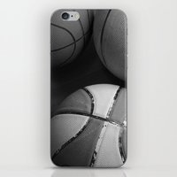 basketball iPhone & iPod Skins featuring Basketball by Sary and Saff